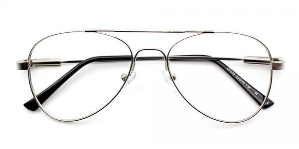 Ismael Eyeglasses Silver
