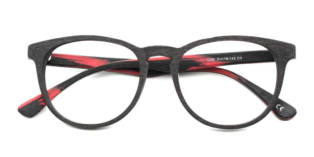 Maya Prescription Eyeglasses Red