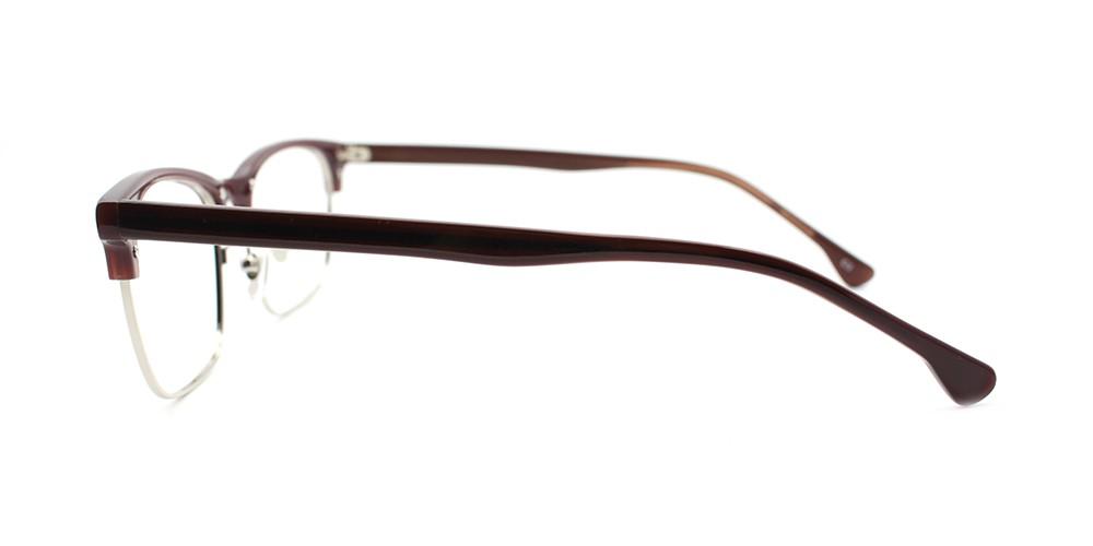 Alyssa Prescription Eyeglasses Brown