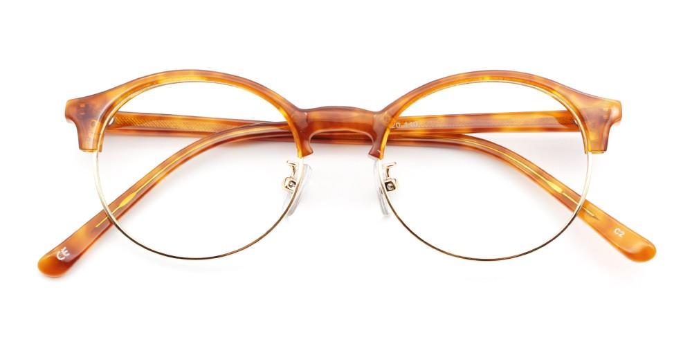 Reagan Cheap Eyeglasses Demi Amber