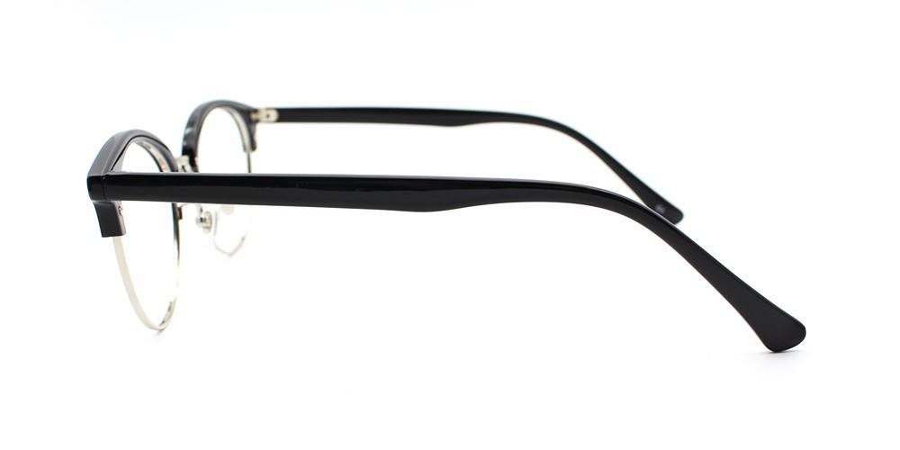 Elena Prescription Eyeglasses Black