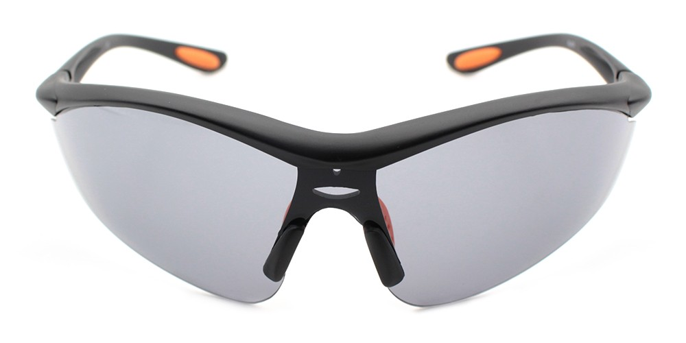 Connor Cheap Safety Glasses Grey
