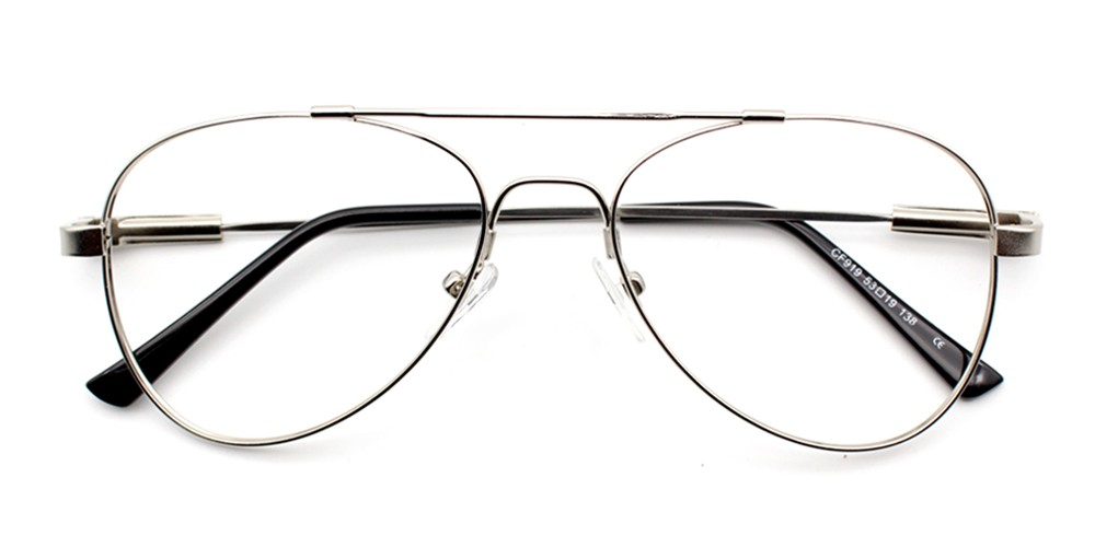 Ismael Cheap Eyeglasses Silver