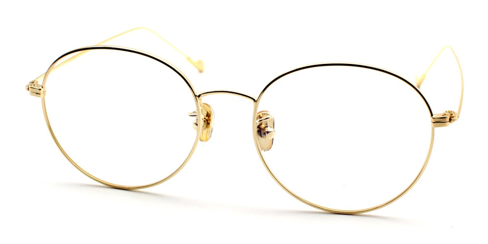 Louanne Discount Eyeglasses Gold