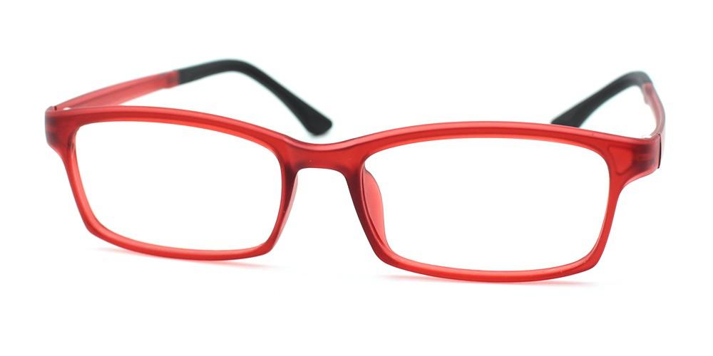 Julian Cheap Kids Eyeglasses Red