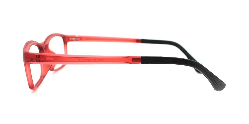 Julian Prescription Kids Eyeglasses Red