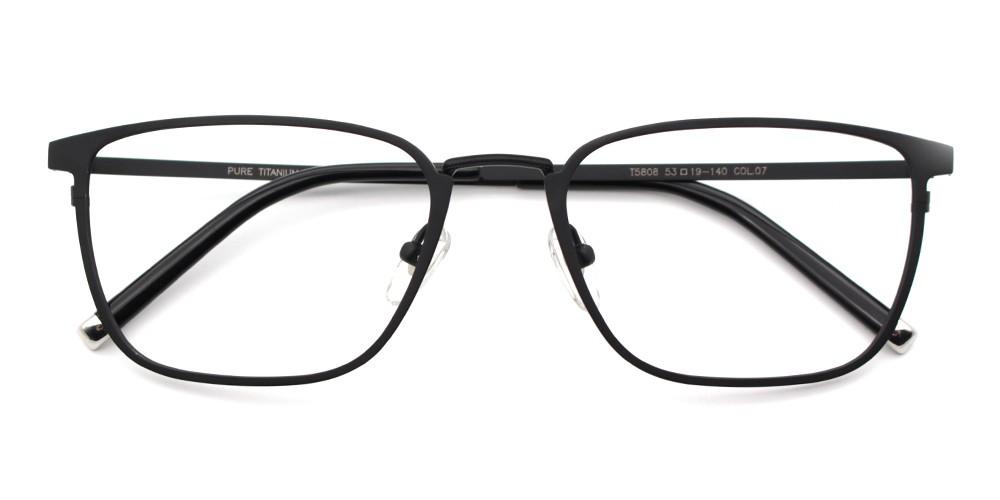 Caden Cheap Eyeglasses Black