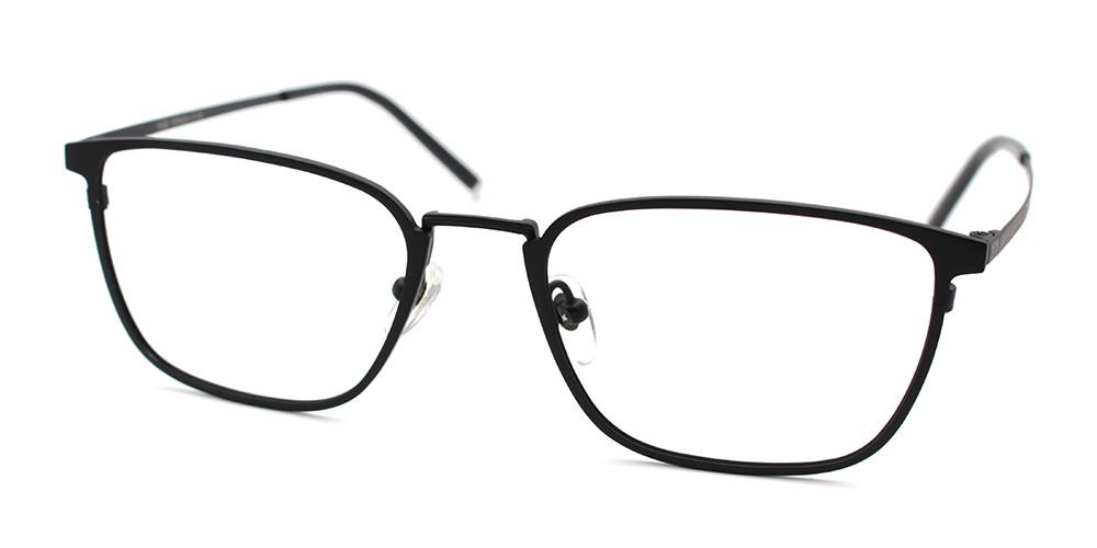 Caden Discount Eyeglasses Black