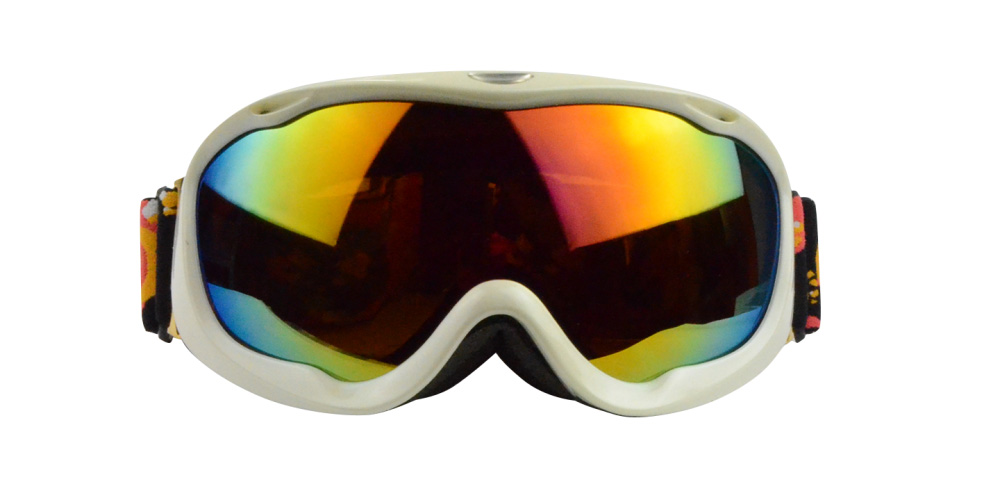 Josiah Rx Ski Goggles White