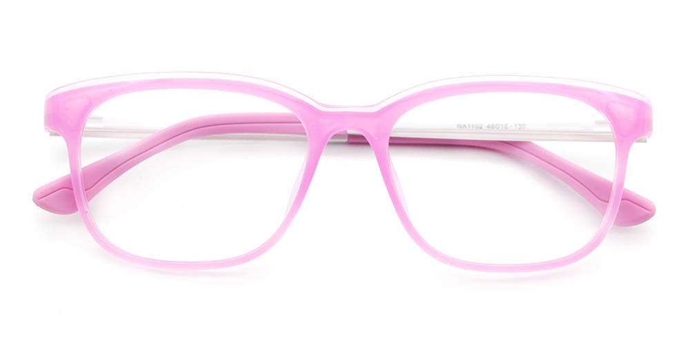 Miles Kids Rx Glasses Pink