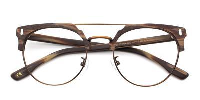 Evan Eyeglasses Brown