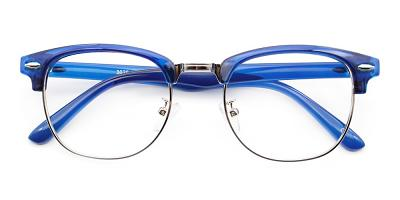Morey Eyeglasses Blue
