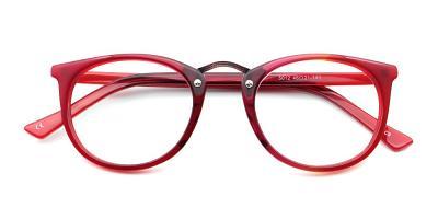 Gabriella Eyeglasses Red