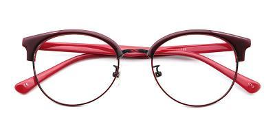 Elena Eyeglasses Red