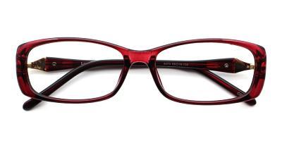 Victoria Eyeglasses Red