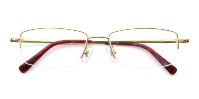 Jackson Eyeglasses Gold