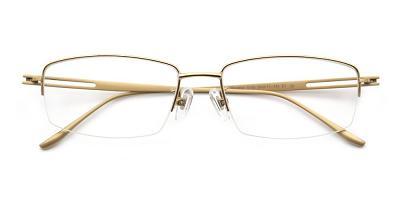 Liam Eyeglasses Gold