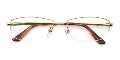 Aiden Eyeglasses Gold