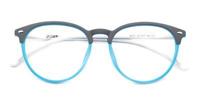 Riley Eyeglasses Blue