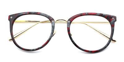 Elizabeth Eyeglasses Red