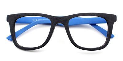 Nathan Eyeglasses Black Blue