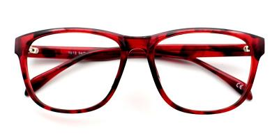 Nora Eyeglasses Red Demi