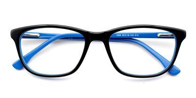 Harper Eyeglasses Black Blue