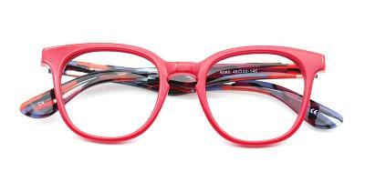 Audrey Eyeglasses Red