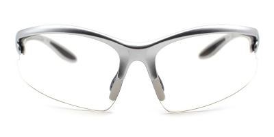 Leo Rx Safety Glasses Silver