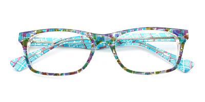 Lucy Eyeglasses Blue