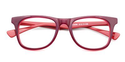 Natalie Eyeglasses Red