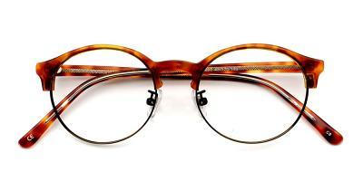 Reagan Eyeglasses Dark Demi