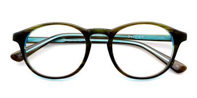 Ellie Eyeglasses Green Blue