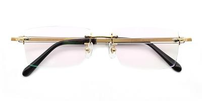 Lucas Eyeglasses Gold
