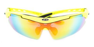 Daniel Sports Sunglasses Yellow