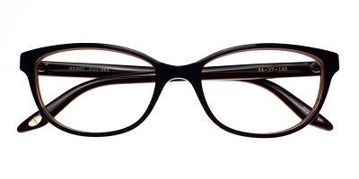 Quincy Eyeglasses Purple Red