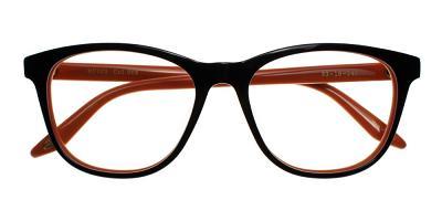 Pacoima Eyeglasses Brown Orange