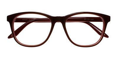 Pacoima Eyeglasses Brown Red