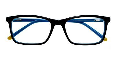 Tiburon Eyeglasses Black Blue