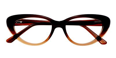 Upland Eyeglasses Brown