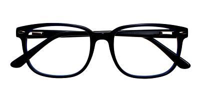 Berkeley Eyeglasses Black Blue