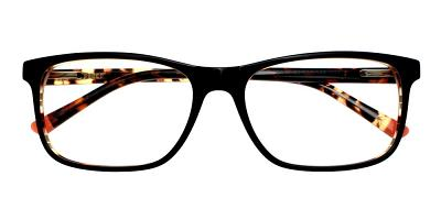 Alhambra Eyeglasses Black Demi