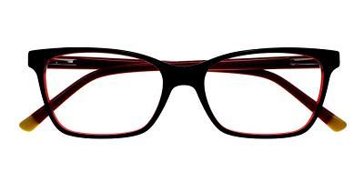Paradise Eyeglasses Black Red