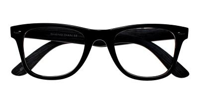 Rancho Eyeglasses Black Wood