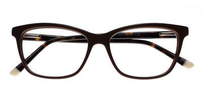 Atwater Eyeglasses Gray Brown