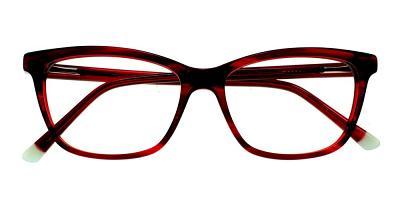 Atwater Eyeglasses Red