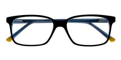 Benicia Eyeglasses Blue Black