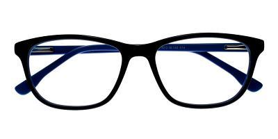 Escondido Eyeglasses Black Blue