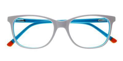 Lathrop Eyeglasses Blue White
