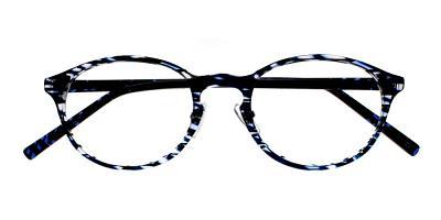 Hayfork Eyeglasses Blue Demi